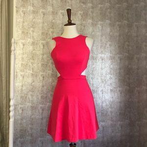 Amanda Uprichard Open Back Mini Dress